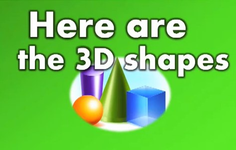 Cylinder, Cube, Sphere and Cone…these are the 3D Shapes we know!